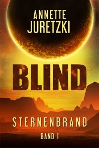 Sternenbrand Blind Cover Science Fiction Roman