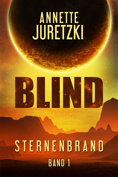 Sternenbrand Blind Cover SciFi Roman